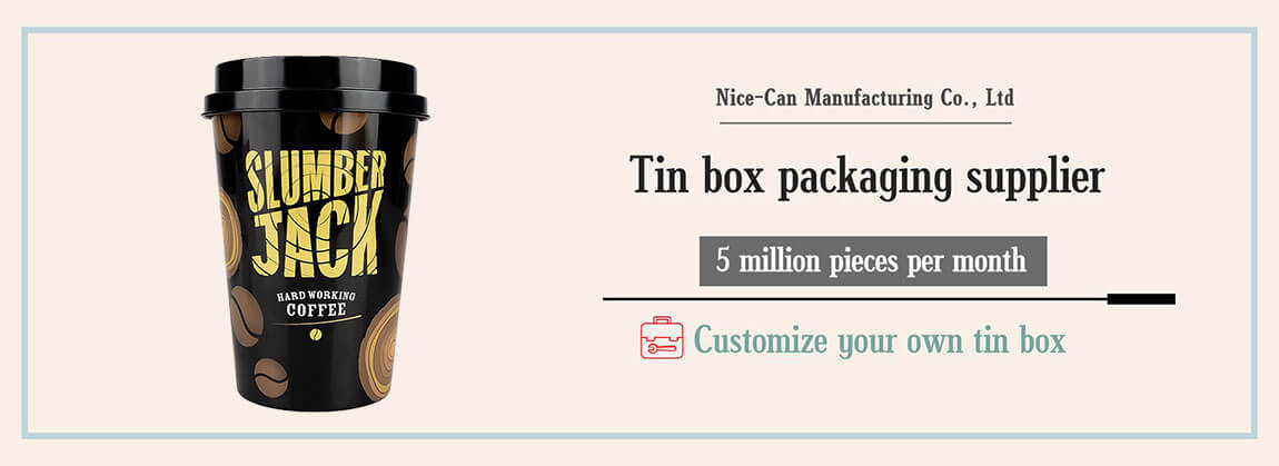 coffee tin can packaging