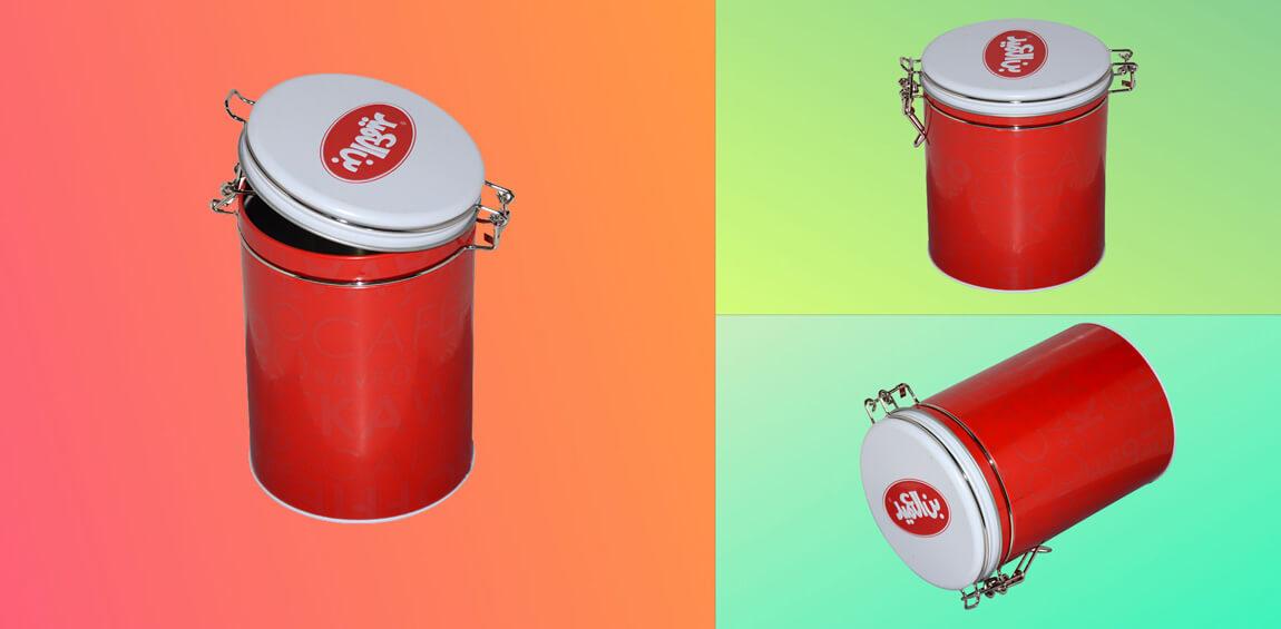 Airtight Lid Tin Box