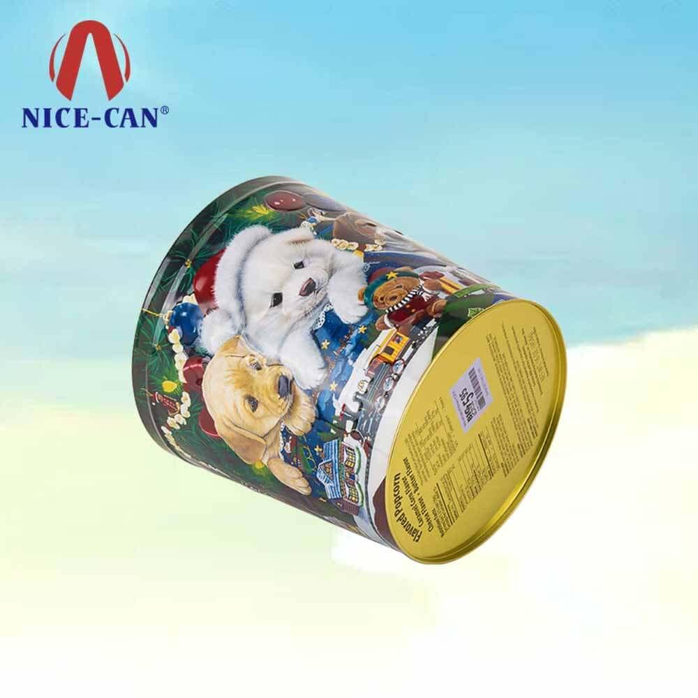 Christmas tin box_Christmas candy tins_Christmas gift tins ...